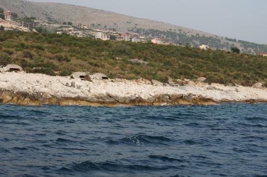Albania bunkers