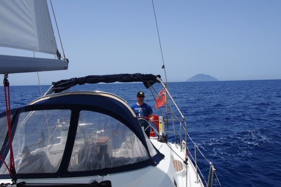 Ustica Volcano Cruising